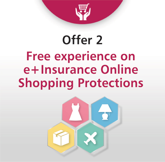 FREE experience on first 3-month eShopping Insurance Protection