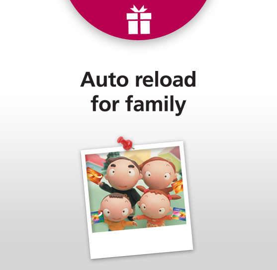 Auto Reload for Family