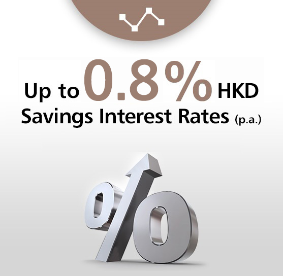 Gain up to 0.7% Savings Interest Rate