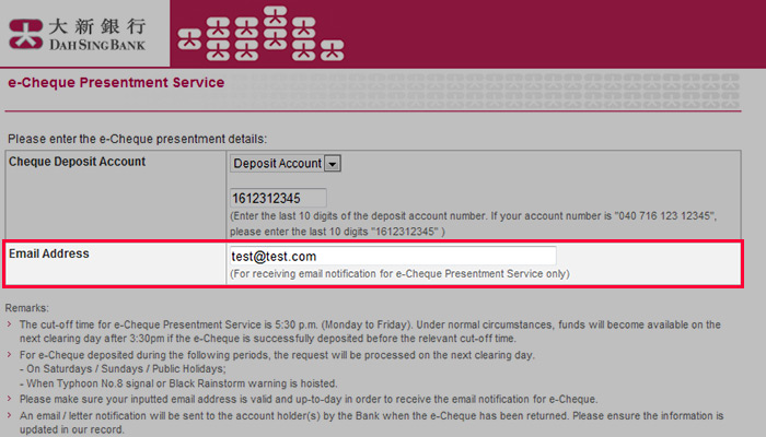 Dah Sing Bank, Limited - Personal Banking - Digital - e